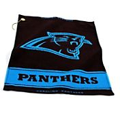 Team Golf Carolina Panthers Woven Towel