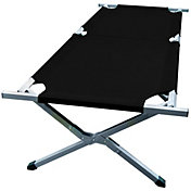 "Stansport Base Camp 80"" x 30"" x 17"" Folding Cot"