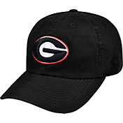 Top of the World Men's Georgia Bulldogs Crew Black Adjustable Hat