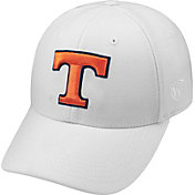 Top of the World Men's Tennessee Volunteers White Premium Collection M-Fit Hat