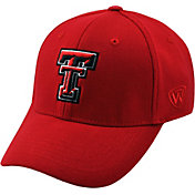 Top of the World Men's Texas Tech Red Raiders Red Premium Collection M-Fit Hat