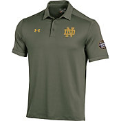 Under Armour Men's Notre Dame Fighting Irish Green Shamrock Series Polo