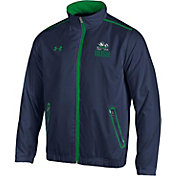 Under Armour Men's Notre Dame Fighting Irish Navy/Green Impulse Jacket