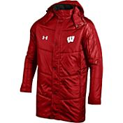 Under Armour Men's Wisconsin Badgers Red Elevate Jacket