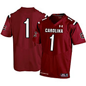 Under Armour Youth South Carolina Gamecocks #1 White Replica Football Jersey