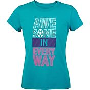 Umbro Girls' 'Awesome in Every Way' Soccer T-Shirt
