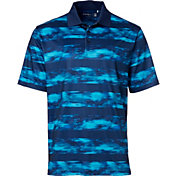 Walter Hagen Men's Port Water Color Stripe Golf Polo