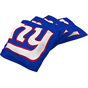 Wild Sports New York Giants XL Cornhole Bean Bags