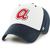 '47 Men's Atlanta Braves Clean Up Navy Adjustable Hat