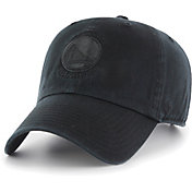'47 Men's Golden State Warriors Black Clean-Up Adjustable Hat