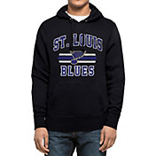 '47 Men's St. Louis Blues Headline Pullover Navy Hoodie