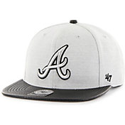 '47 Youth Atlanta Braves Captain Adjustable Snapback Hat