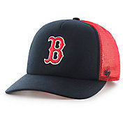 '47 Youth Boston Red Sox Barlow Captain Grey Adjustable Snapback Hat