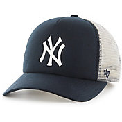 '47 Youth New York Yankees Barlow Captain Grey Adjustable Snapback Hat