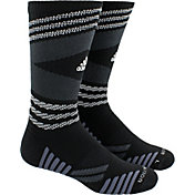 adidas Speed Mesh Team TRAXION Single Crew Socks