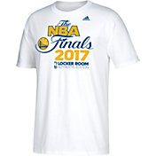 adidas Youth 2017 Western Conference Champions Golden State Warriors Locker Room White T-Shirt