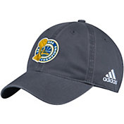 adidas Youth 2017 NBA Champions Golden State Warriors Locker Room Grey Adjustable Hat