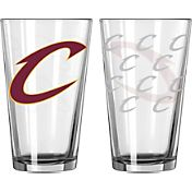 Boelter Cleveland Cavaliers 16oz. Satin Etched Pint glass