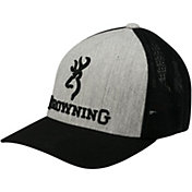 Browning Men's Buckmark Flexfit Mesh Back Hat
