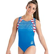 GK Elite Youth Aly Raisman Fierce Pride Gymnastics Leotard