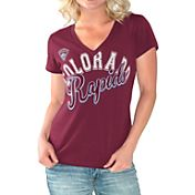 G-III For Her Women's Colorado Rapids Homefield Slub T-Shirt
