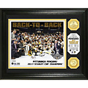 Highland Mint 2017 Stanley Cup Champions Pittsburgh Penguins Bronze Coin Photo Mint