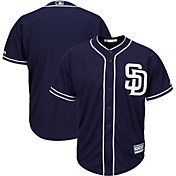 Majestic Men's Replica San Diego Padres Cool Base Alternate Navy Jersey