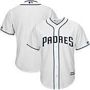 Majestic Men's Replica San Diego Padres Cool Base Home White Jersey