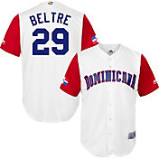 Majestic Men's Replica 2017 WBC Dominican Republic Adrian Beltre #29 Cool Base Jersey