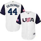 Majestic Men's Replica 2017 WBC USA Paul Goldschmidt #44 Cool Base Jersey