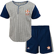 Majestic Toddler Houston Astros Batter Up Shorts & Top Set