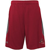 Majestic Youth Arizona Diamondbacks Cool Base Rally Red Performance Shorts