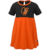 Majestic Youth Girls' Baltimore Orioles Twirl Dress