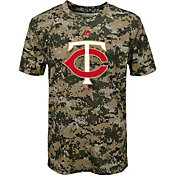 Majestic Youth Minnesota Twins Cool Base Digi Camo Performance T-Shirt