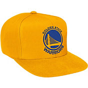 Mitchell & Ness Men's Golden State Warriors Wool Gold Adjustable Snapback Hat