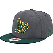 New Era Men's Oakland Athletics 9Fifty Grey Adjustable Hat