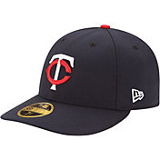 New Era Men's Minnesota Twins 59Fifty Home Navy Low Crown Authentic Hat