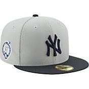 New Era Men's New York Yankees 59Fifty Diamond Era Authentic Hat w/ Derek Jeter Jersey Retirement Patch