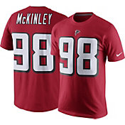 Nike Men's Atlanta Falcons Takkarist McKinley #98 Pride Red T-Shirt