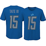 Nike Youth Detroit Lions Golden Tate III #15 Pride Blue T-Shirt