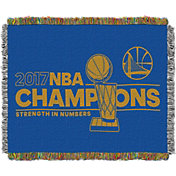 Northwest 2017 NBA Finals Champions Golden State Warriors Locker Room Woven Tapestry Throw