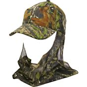 Outdoor Cap Men's Camo Hat with Facemask