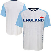 Outerstuff Youth England Replica Jersey White T-Shirt