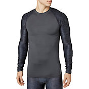 Reebok Men's Printed Compression Long Sleeve Shirt