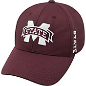 Top of the World Men's Mississippi State Bulldogs Maroon Booster Plus 1Fit Flex Hat
