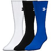 Under Armour Elevated Performance Crew Socks 3 Pack