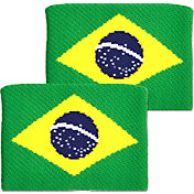 Unique Sports Brazil Flag Soccer Wristbands