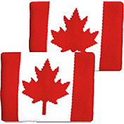 Unique Sports Canada Flag Soccer Wristbands