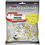 "Pride Sports PTS Micro Head 2.75"" White Golf Tees – 200-Pack"