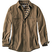 Carhartt Men's Weathered Canvas Shirt Jacket